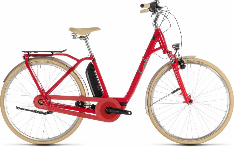 Cube Elly Cruise Hybrid 500 red n mint - Easy Entry 2019
