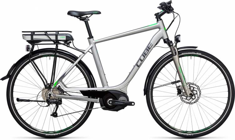 Cube Touring Hybrid ONE 500 silver n flashgreen 2017