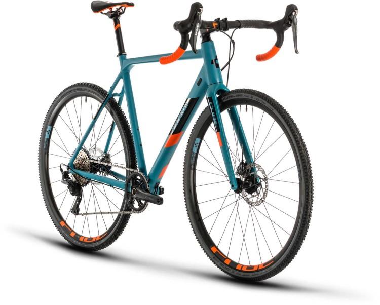 Cube Cross Race SL bluegrey n orange 2020 - Cyclocross