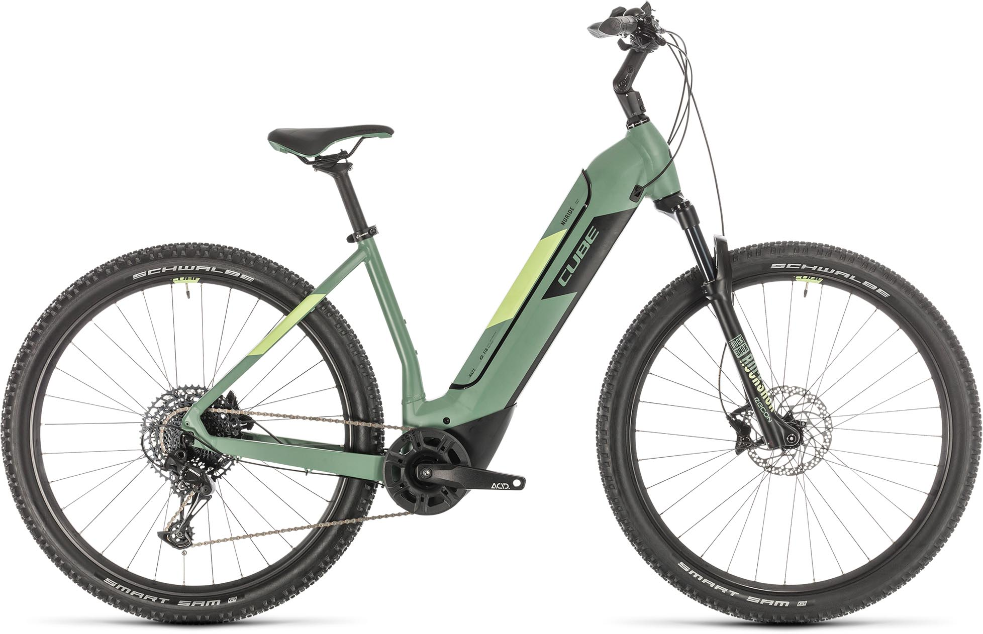 cube nuride hybrid exc 500 green n sharpgreen 2020 e bike hardtail mountainbike e bike. Black Bedroom Furniture Sets. Home Design Ideas