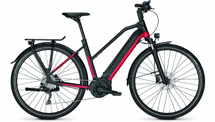 Kalkhoff Endeavour 5.B Move racingred/magicblack matt (Trapez) 2020 - E-Bike Trekkingrad Damen