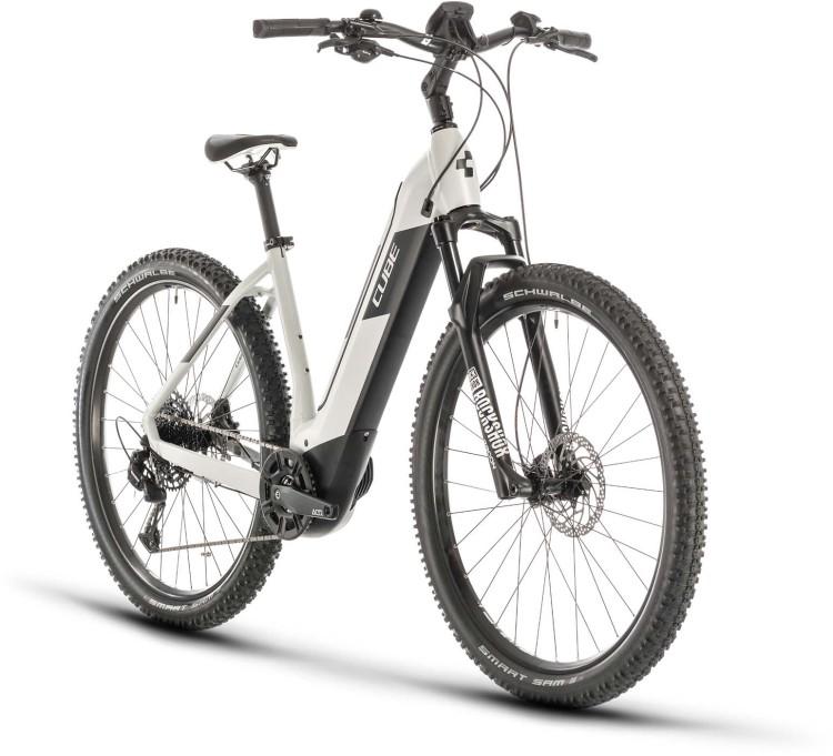 Cube Nuride Hybrid EXC 500 grey n black 2020 - E-Bike Hardtail Mountainbike