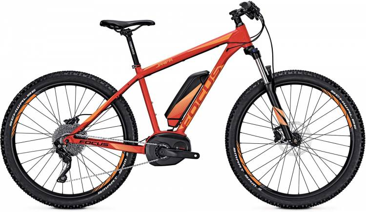 Focus Jarifa Pro 27 Plus red 2017 - E-Bike Hardtail Mountainbike