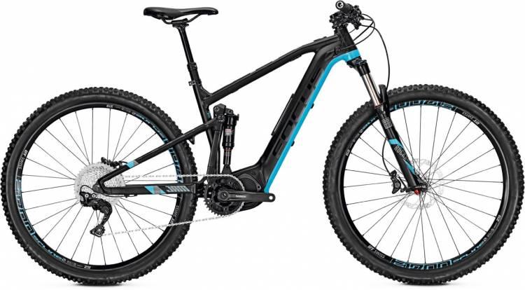 Focus Jam2 29 black/blue 2017 - E-Bike Fully Mountainbike