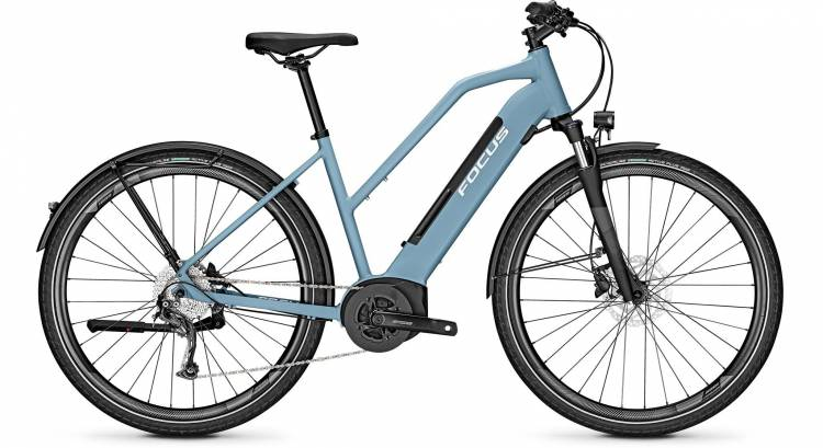 Focus Planet2 5.9 Heritage Blue 2020 - E-Bike Trekkingrad Damen