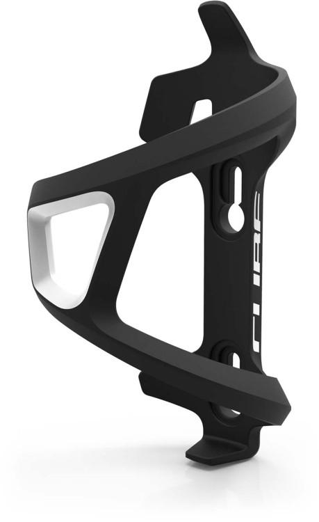 Cube Flaschenhalter HPP Left-Hand Sidecage black n white