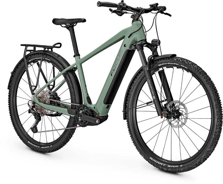 Focus Aventura2 6.8 Mineral Green 2021 - E-Bike Trekkingrad Herren