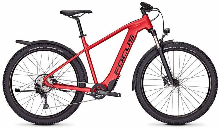 Focus Whistler2 6.9 Equipped red 2019