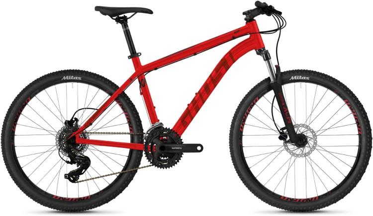 "Ghost Kato 26"" Base AL U red / black 2021 - Hardtail Mountainbike"