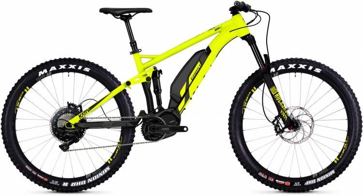 Ghost Hybride Kato FS S6.7+ AL 2018 - E-Bike Fully Mountainbike