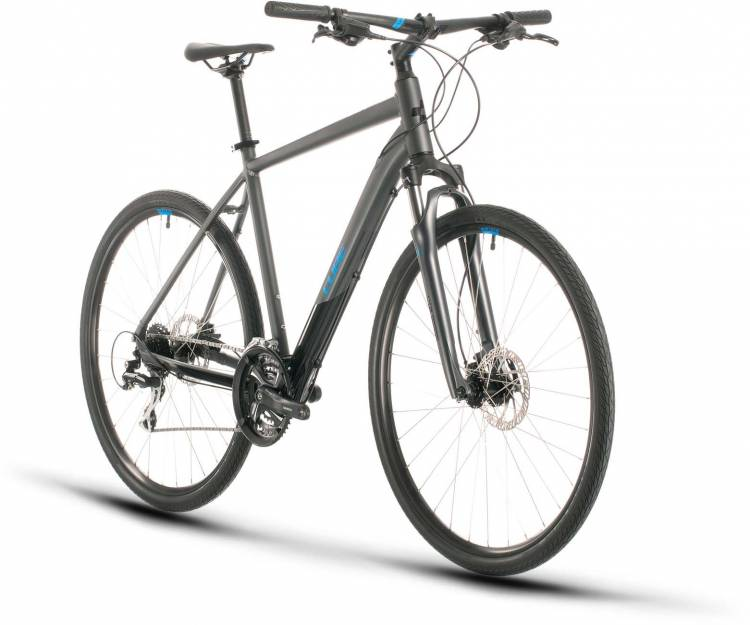 Cube Nature iridium n blue 2020 - Crossrad Herren