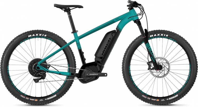 Ghost Hybride Teru B EBS AL U electricblue / jetblack / shadowblue 2019