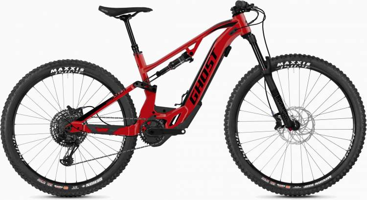 Ghost Hybride ASX 6.7+ AL U riot red / jet black 2020 - E-Bike Fully Mountainbike