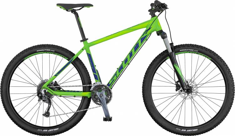 Scott Aspect 740 green/blue/lt green 2017 - Hardtail Mountainbike