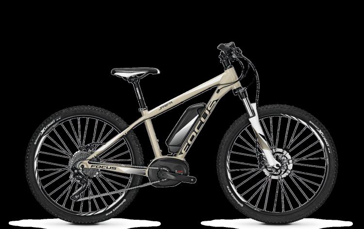 Focus Jarifa Pro Donna 27 beige 2017 - Damen E-Bike Hardtail Mountainbike