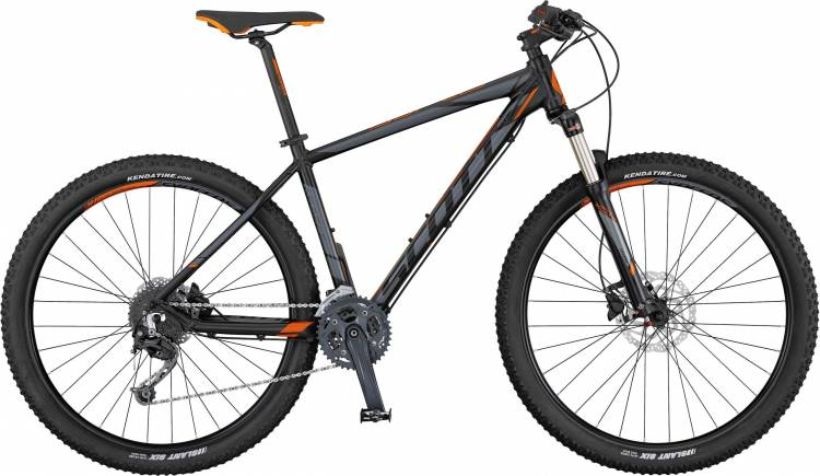 Scott Aspect 730 black/grey/orange 2017 - Hardtail Mountainbike