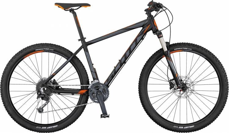 Scott Aspect 730 black/grey/orange 2017