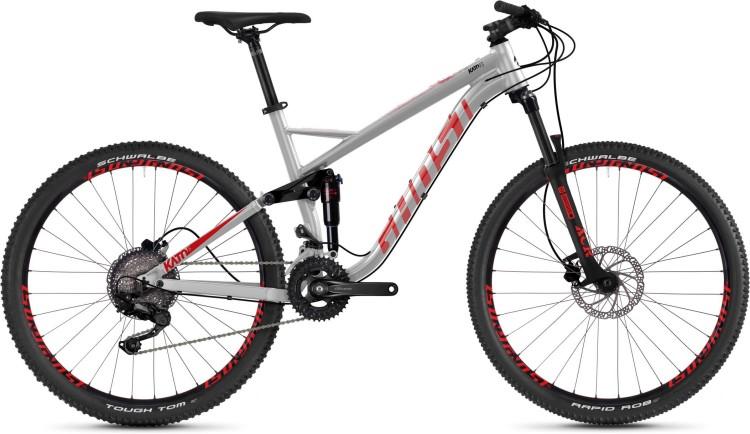 Ghost Kato FS 2.7 AL U iridium silver / riot red / jet black 2020 - Fully Mountainbike