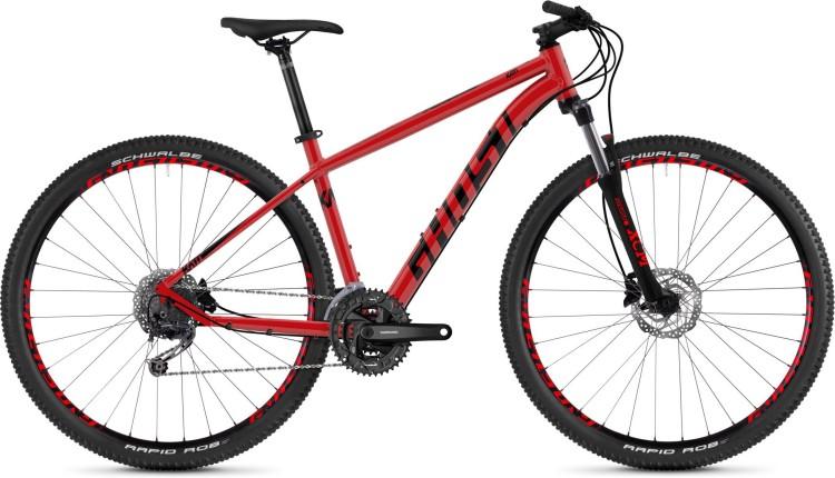 Ghost Kato 4.9 AL U riot red / night black 2020 - Hardtail Mountainbike