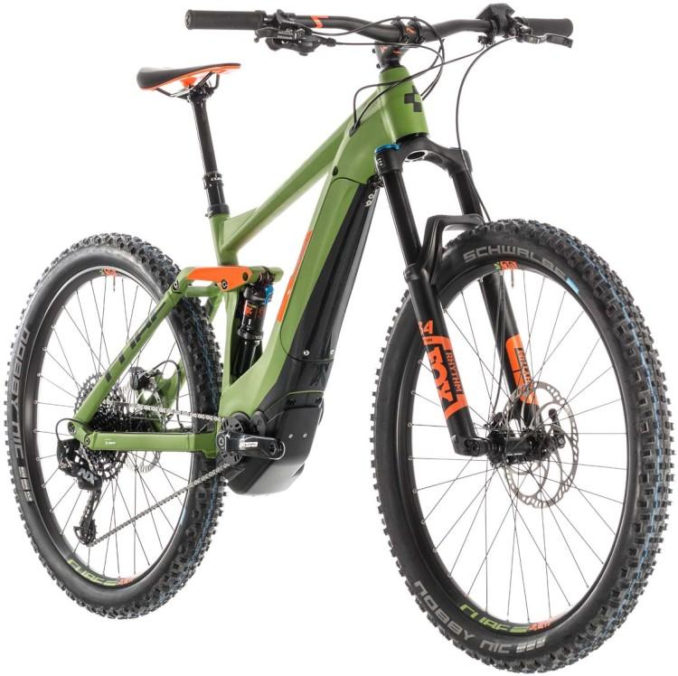 Cube Stereo Hybrid 140 Race 500 27.5 green n orange 2019