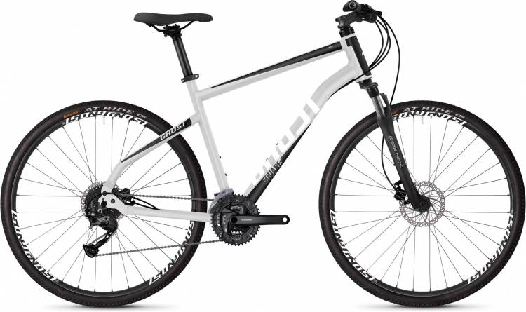 Ghost Square Cross 1.8 AL U iridium silver / jet black / star white 2020 - Crossrad Herren