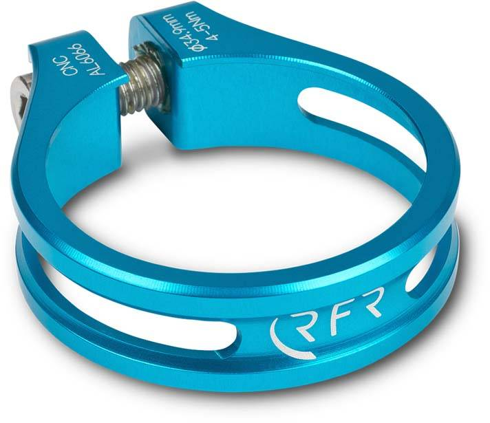 RFR Sattelklemme Ultralight 34,9 mm blue