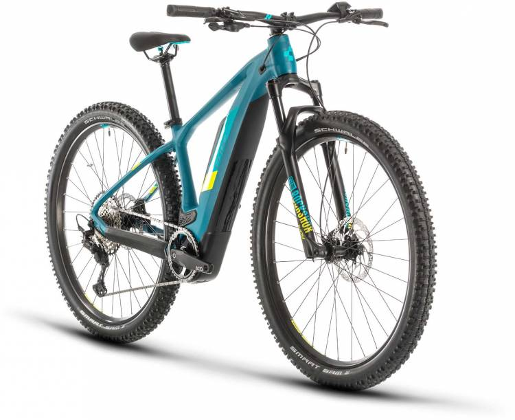 Cube Access Hybrid Race 500 pinetree n lime 2020 - E-Bike Hardtail Mountainbike
