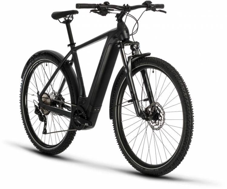 Cube Cross Hybrid Pro 625 Allroad iridium n black 2020 - E-Bike Crossrad Herren
