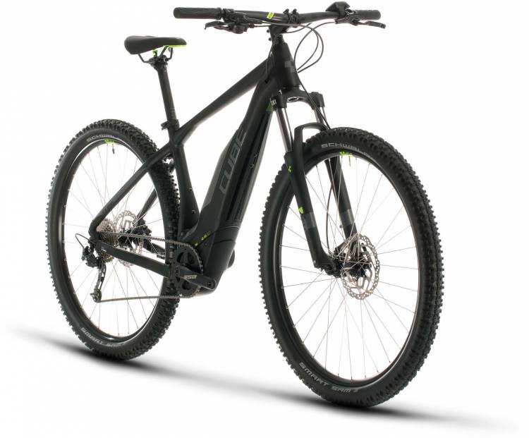 Cube Acid Hybrid ONE 500 29 black n green 2020 - E-Bike Hardtail Mountainbike
