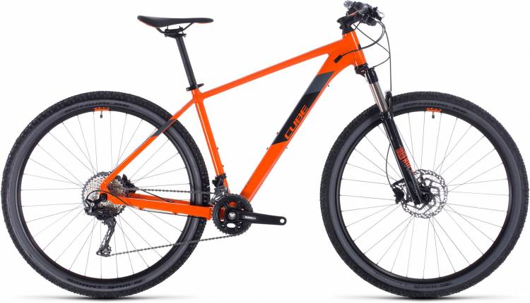 Cube Attention SL orange n black 2020 - Hardtail Mountainbike