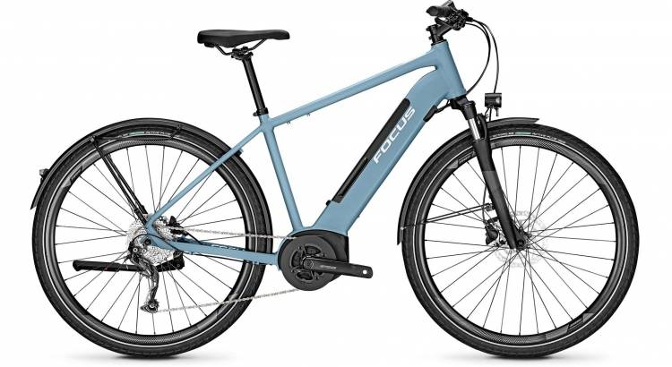 Focus Planet2 5.9 Heritage Blue 2020 - E-Bike Trekkingrad Herren