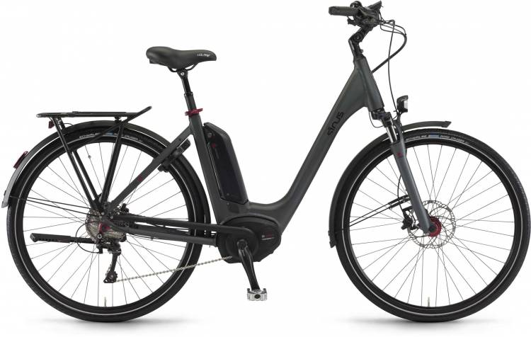 "Sinus Tria 10 500Wh 26"" mysterypearl matt 2017 - Tiefeinsteiger E-Bike Trekkingrad"