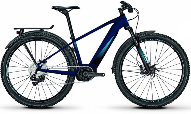 Focus Jarifa2 Equipped 29 sealblue matt 2018 - E-Bike Hardtail Mountainbike