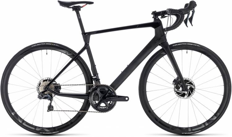 Cube Agree C:62 SLT Disc carbon n black 2018 - Herren Carbon Rennrad