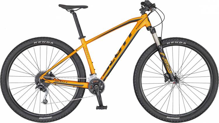 Scott Aspect 740 orange/dk.grey 2020
