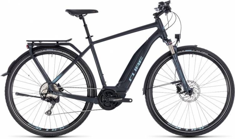 Cube Touring Hybrid Pro 500 darknavy n blue 2018 - Herren E-Bike Trekkingrad
