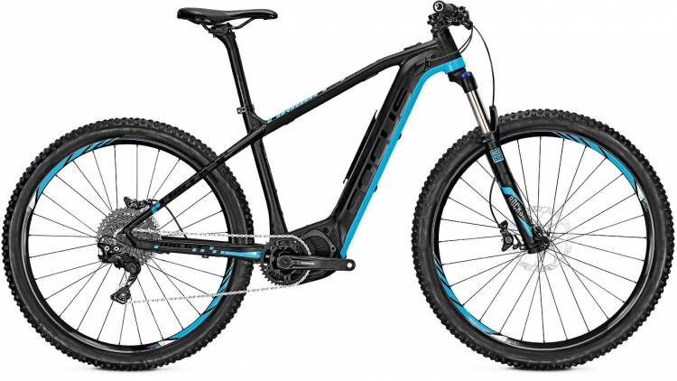 Focus Bold2 29 Ltd black/blue 2017 - E-Bike Hardtail Mountainbike