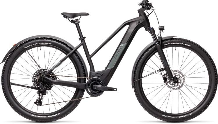 Cube Reaction Hybrid Pro 500 29 Allroad black n grey 2021 - E-Bike Hardtail Mountainbike Damen