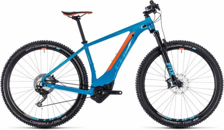Cube Reaction Hybrid SLT 500 blue n orange 2018
