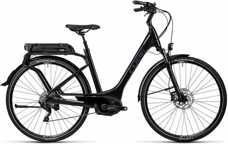 Cube Touring Hybrid Pro 500 black n grey Damen - Easy Entry 2016 - Vorführmodell