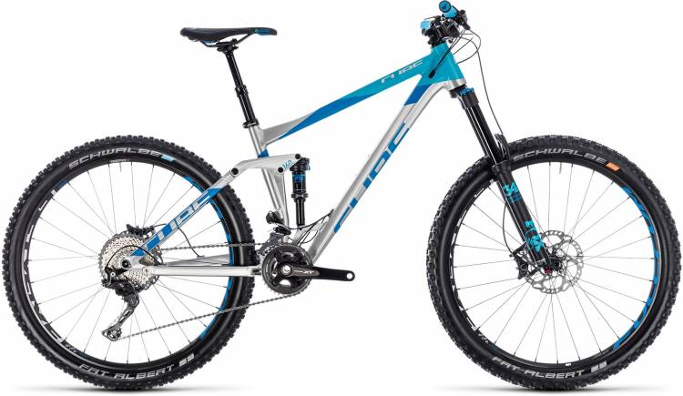 Cube Stereo 160 SL 27.5 metal n blue 2018 - Fully Mountainbike