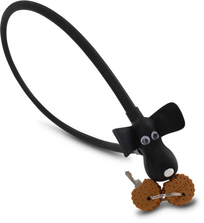 "RFR Kabelschloss HPS ""DOG"" 10 x 450 mm black"