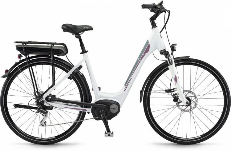 """Winora B180.X 400Wh 26"""" weiß 2017 - Tiefeinsteiger E-Bike Trekkingrad"""