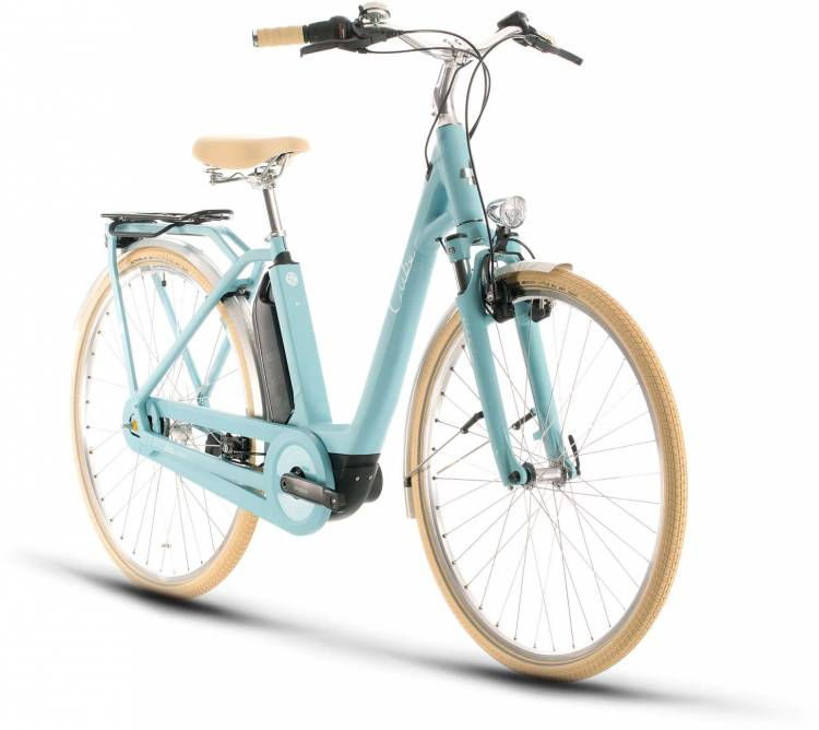 Cube Ella Cruise Hybrid 500 blue n blue 2020 - E-Bike Trekkingrad Tiefeinsteiger