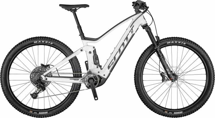 Scott Strike eRIDE 940 pearl white / black 2021 - E-Bike Fully Mountainbike