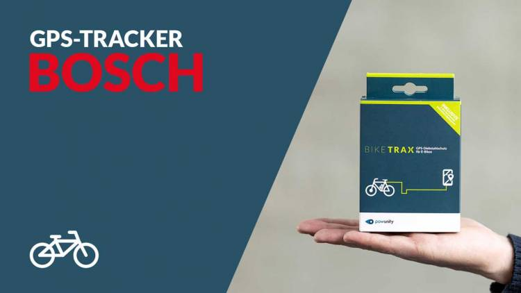 PowUnity GPS Tracker für E-Bikes mit Bosch-Motor