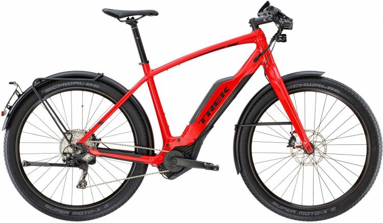 Trek Super Commuter+ 8S 45km/h Viper Red - Herren 2019