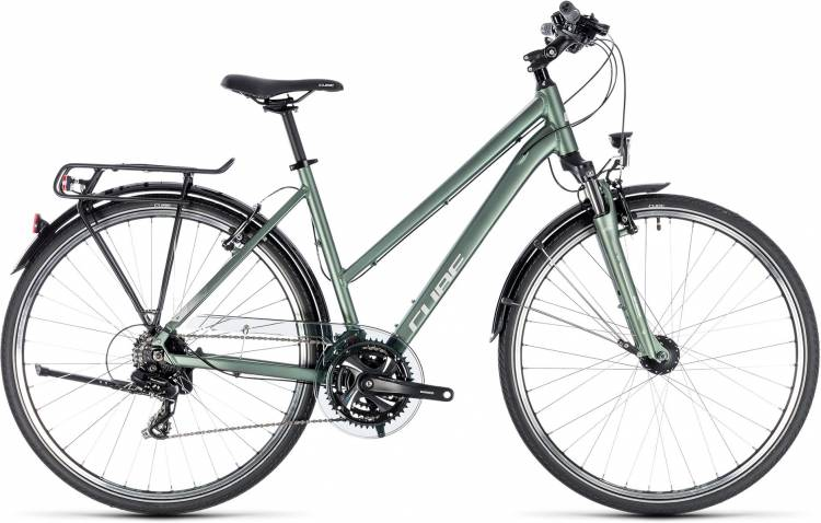 Cube Touring green n silver 2018
