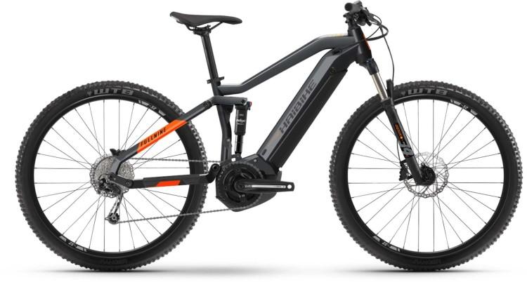 Haibike FullNine 4 i500Wh coolgrey/lava matte 2021 - E-Bike Fully Mountainbike