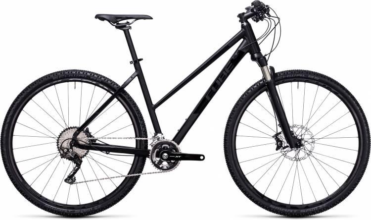 Cube Tonopah SL black edition 2017 - Damen Trapez Crossrad